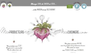 Mes producteurs mes cuisiniers circuits courts