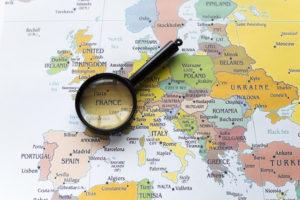 Carte Europe Tourisme de proximité