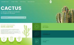 CACTUS outil numérique adaptation changement climatique
