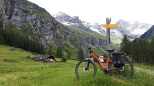 Vélo assistance électrique tourisme montagne