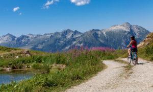 Développement tourisme à vélo Tarentaise Vanoise