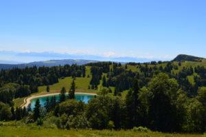 L'été à la station de ski Métabief