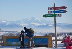 transition climatique de la station de ski de Métabief